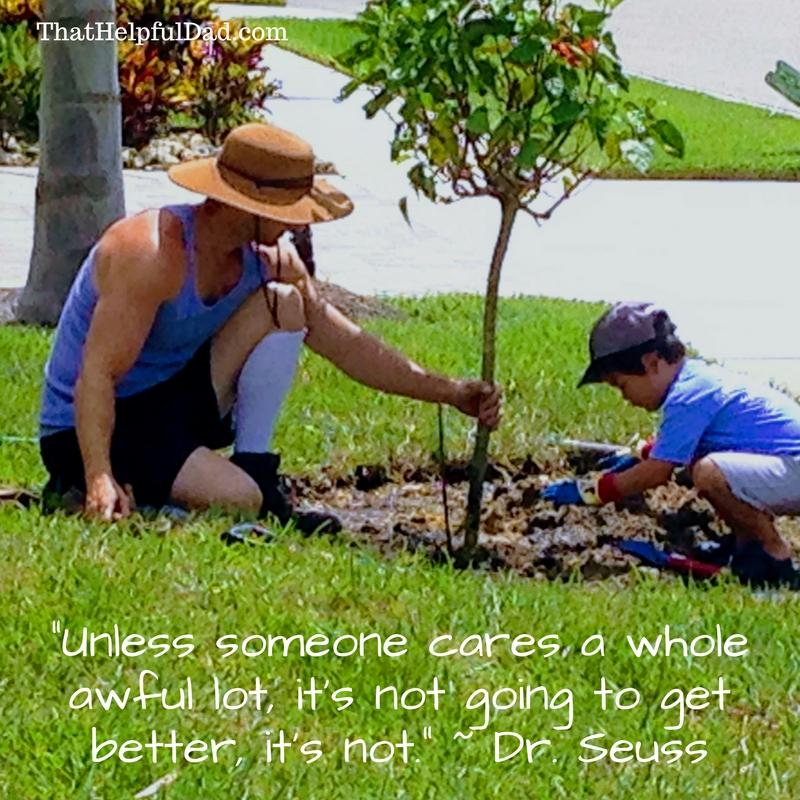 Dr Seuss Care Quote