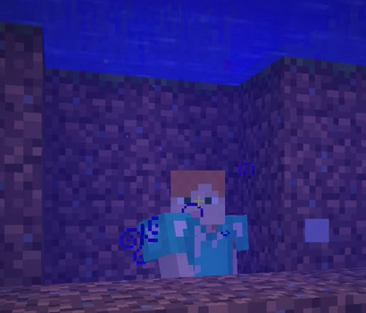 Jax Minecraft Tip 22: So long as you have a TORCH you will never DROWN