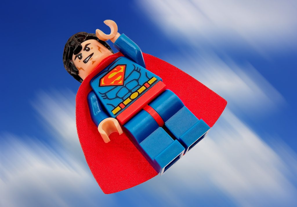https://pixabay.com/en/superman-lego-superhero-hero-super-1529274/