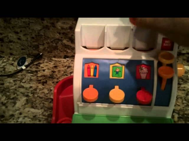 Fisher Price Cash Register Vintage Toy – PRODUCT REVIEW