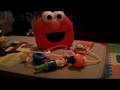 Fisher Price Giggle Medical Set featuring Sesame Street Kids Toys Doctors Office Pro
