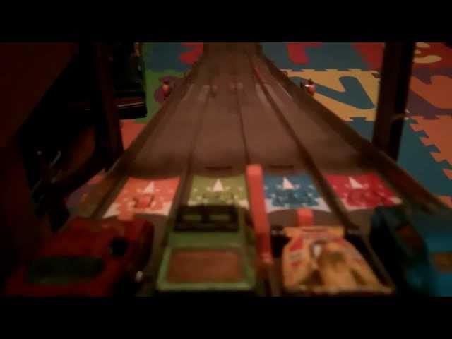 Hot Wheels 4-Lane Raceway Review