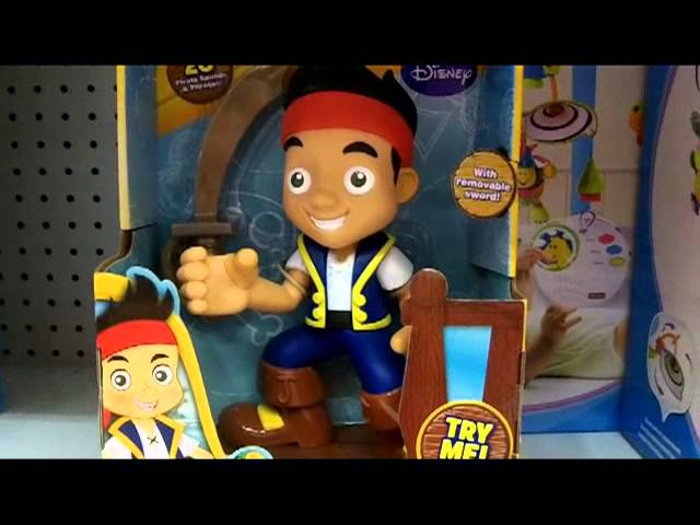 "Jake and The Neverland Pirates ""Yo Ho Let's Go"" Talking Figure"