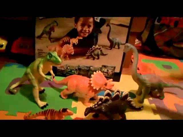 Jumbo Dinosaur Playset from Learning Essentials Amazon