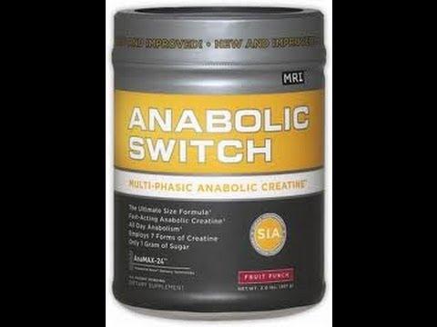 MRI Anabolic Switch Creatine Review