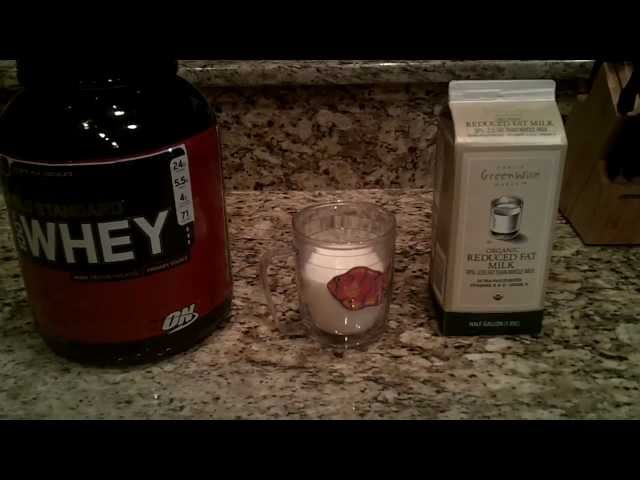 How to Make a Super Fast Protein Shake – It doesn't get any easier!