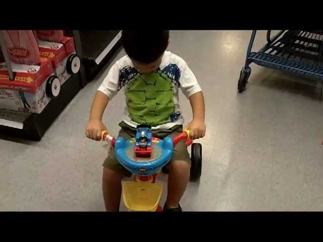 Thomas The Train Activity Fold N Go Tricycle Review