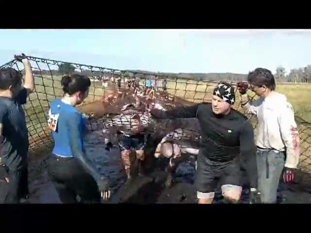 Tough Mudder Devil's Beard Obstacle – it STINKS in there!