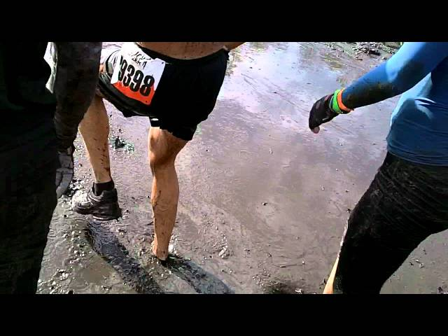 Tough Mudder – Don't Lose a Shoe in the Mud