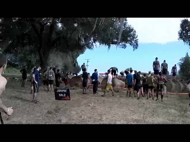 Tough Mudder Jumpin' Bale Obstacle