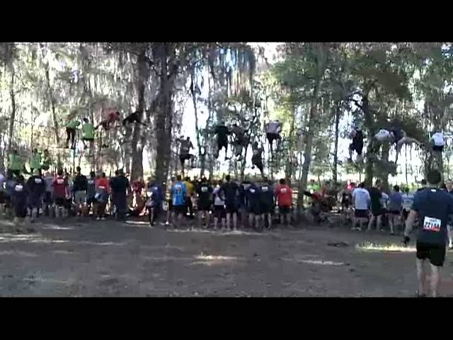 Tough Mudder Spiders Web Obstacle