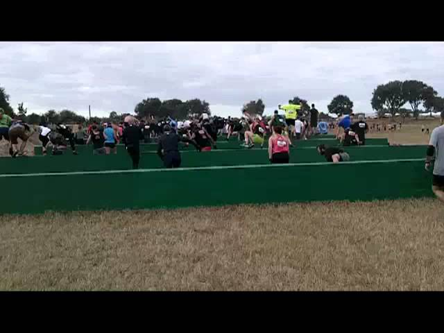 Tough Mudder Steeplechase Obstacle Surprise on other side