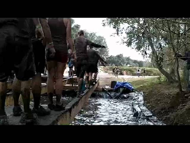 Tough Mudder Twinkle Toes Balance Beam Obstacle