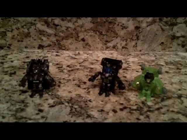 Transformers Bot Shots Evil Trio Battle Royale