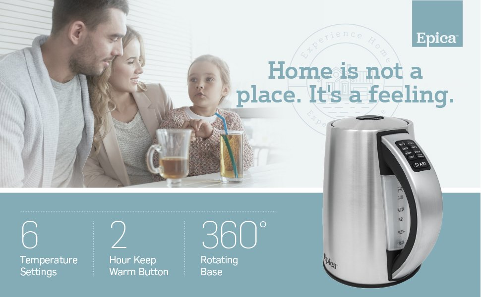 Epica Electric Kettle Features