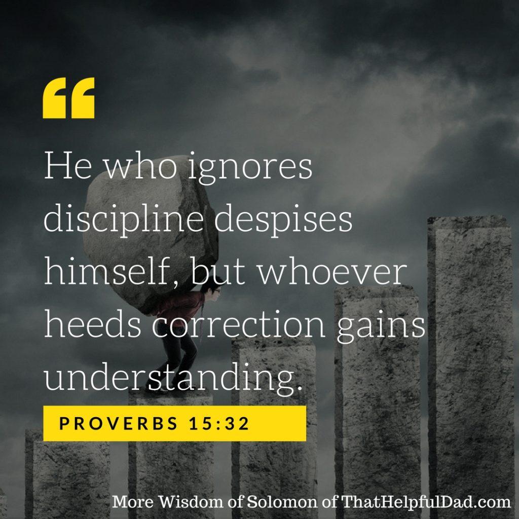 Proverbs 15:32