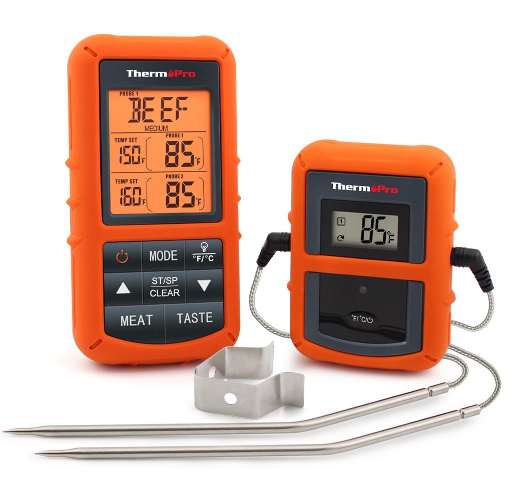 ThermoPro TP20 Remote Digital Meat Thermometer with Dual Probes