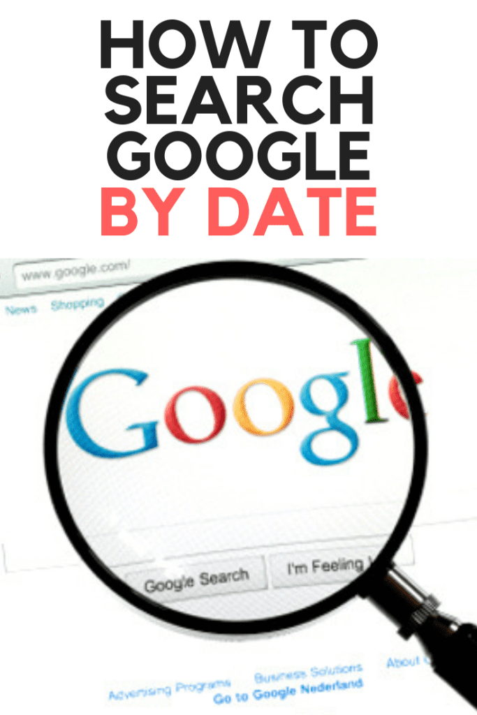 Search Google By Date