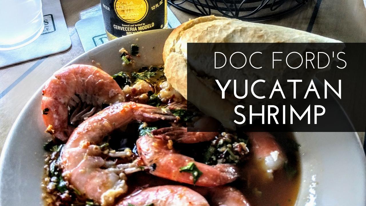 Yucatan Shrimp Recipe a la Doc Ford's in Fort Myers, Fl
