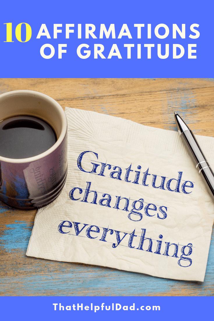 Affirmations of Gratitude