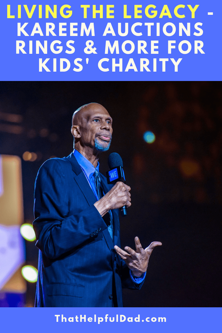 Living the Legacy – Kareem Abdul-Jabbar Auctions Treasured Championship Memorabilia to Help Children