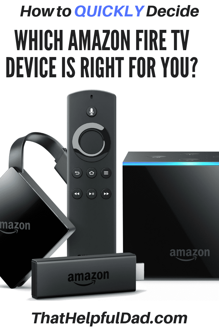 Amazon Fire TV - How to QUICKLY Decide between Fire Stick
