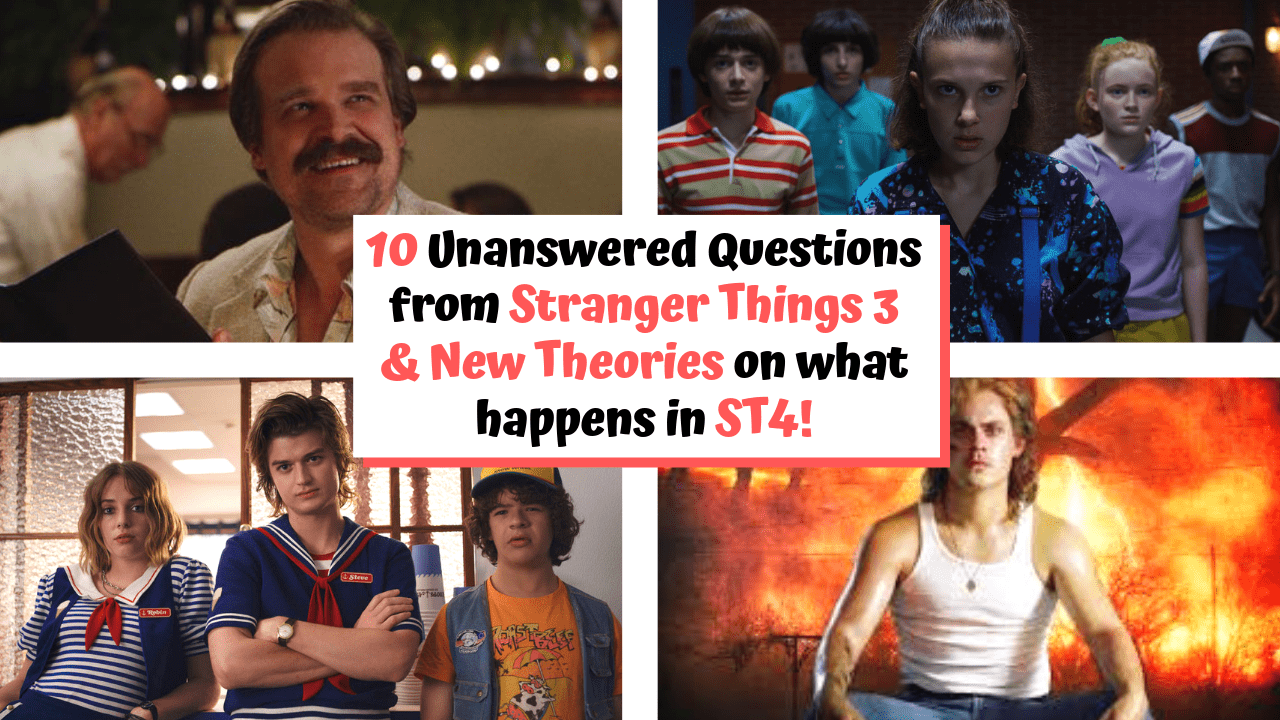 Stranger Things Season 3 Questions