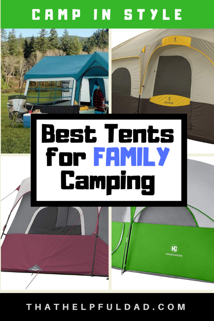 Best Tents for Family Camping