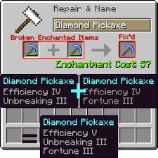 Minecraft item repair