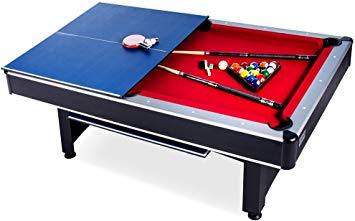 Rack scorpius pool table