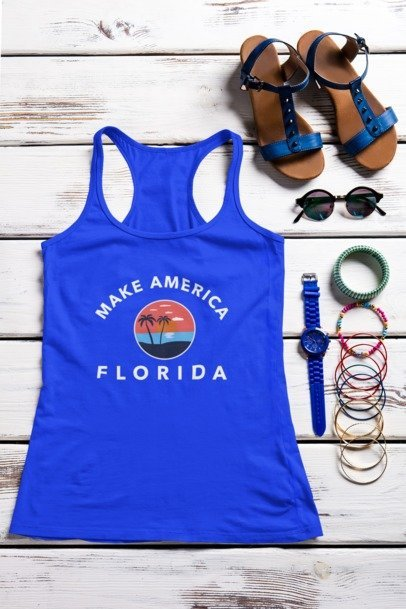 Make America Florida Tank Top